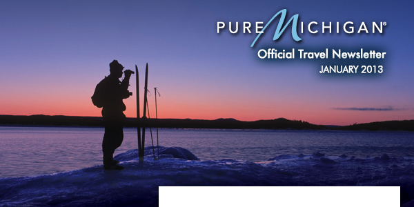 Pure Michigan Official Travel Newsletter, November 2012: Get into the Holiday Spirit in Pure Michigan