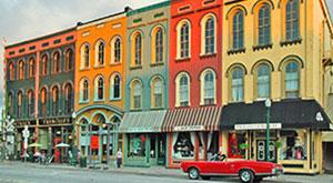 Anne Arbor Streetscape