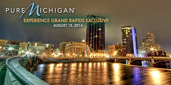 Pure Michigan Official Travel Newsletter - Experience Grand Rapids Exclusive